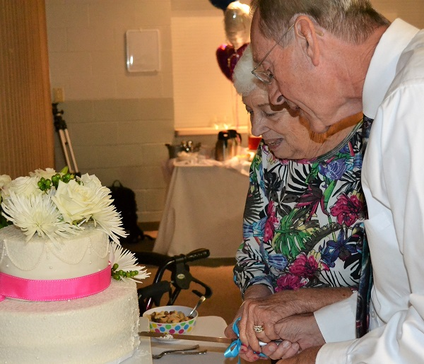 Joan Margard and Bill Nightingale Wedding