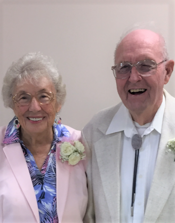 Anniversary Celebrants Barb and Dick Beck