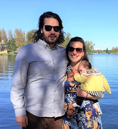 Esmé Isabelle Lukens and Parents
