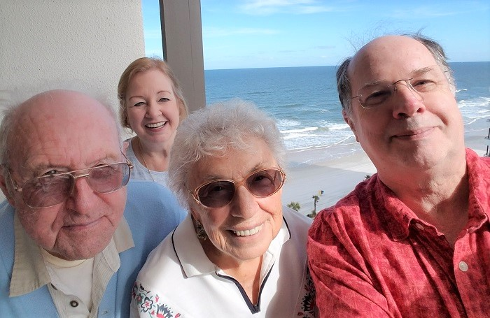 The Brattons and Becks in Daytona