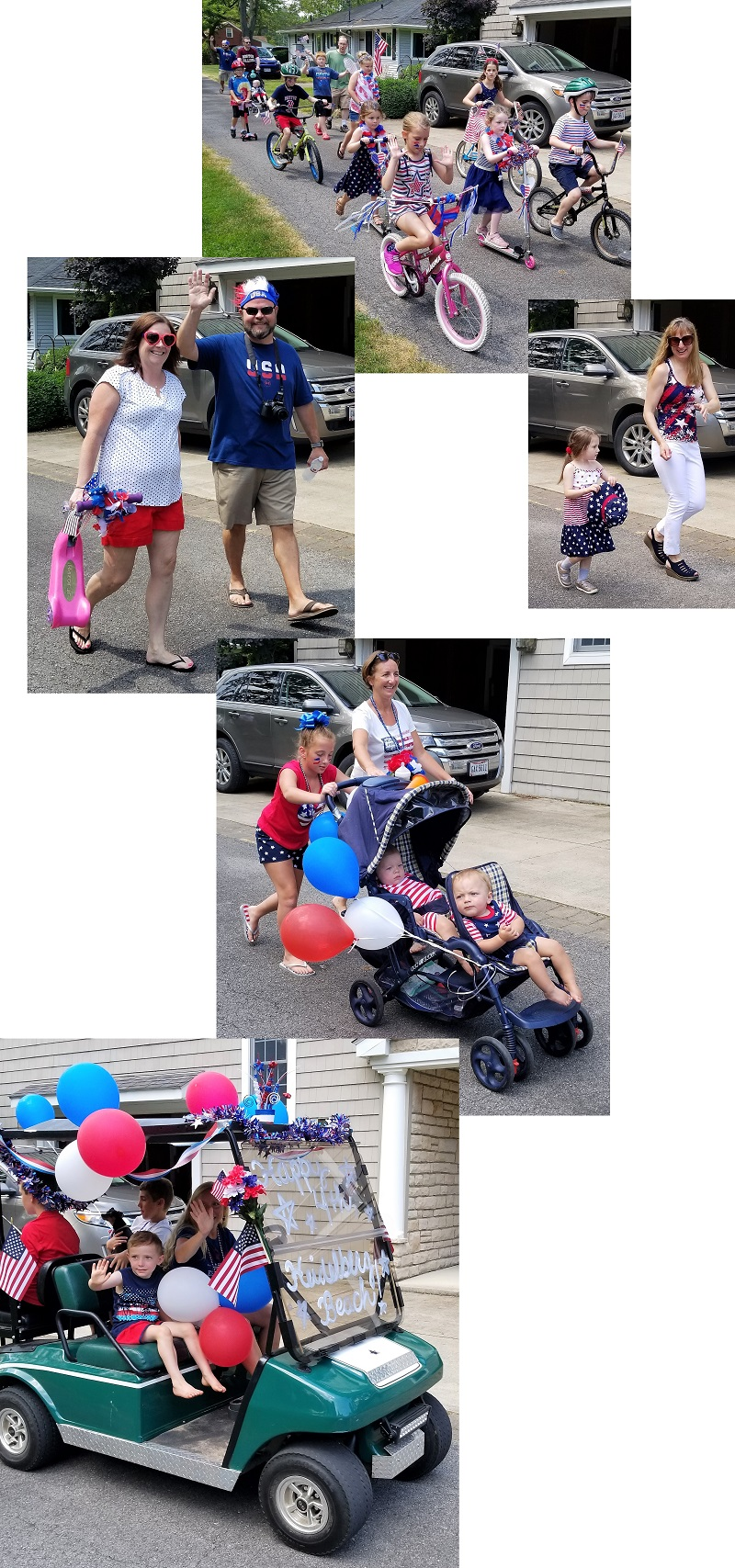 2019 4th of July Parade at Heidelberg Beach